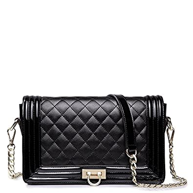 Vivilli Check Pattern Chain Strap Shoulder Bag 71