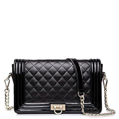 Vivilli Check Pattern Chain Strap Shoulder Bag 71