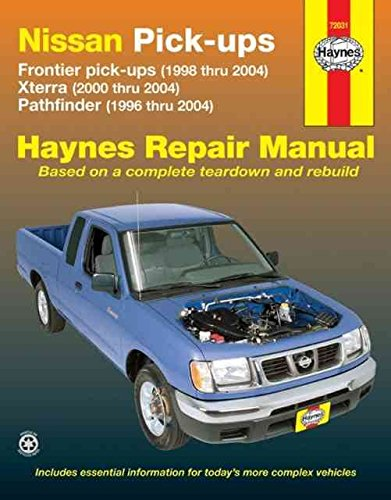 nissan-frontier-xterra-pathfinder-pick-ups-96-04-by-haynes-editorial-published-february-2007