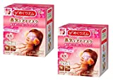 [2-pack Value Set] Kao MEGURISM | Health Care | Steam Warm Eye Mask Rose(14 sheets)
