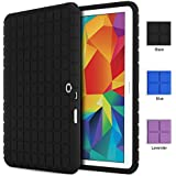 Samsung Galaxy Tab 4 10.1 Case - Poetic Samsung Galaxy Tab 4 10.1 Case [GraphGRIP Series] - [Lightweight] [GRIP] Protective Silicone Case for Samsung Galaxy Tab 4 10.1 Black (3 Year Manufacturer Warranty From Poetic)