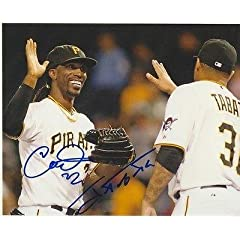 Buy Andrew Mccutchen Jose Tabata Pittsburgh Pirates Signed Autographed 8x10 Photo - Autographed MLB... by Sports Memorabilia