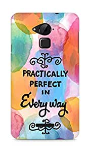 AMEZ practically perfect in every way Back Cover For Coolpad Note 3