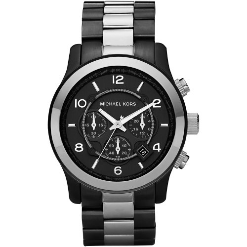 Michael Kors MK8182 Mens Jet Set Chronograph Black Watch