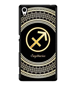 Printvisa 2D Printed Sunsign Sagittarius Designer back case cover for Sony Xperia Z4 - D4260