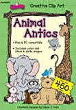 Animal Antics Clip Art