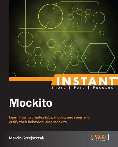 Instant Mockito