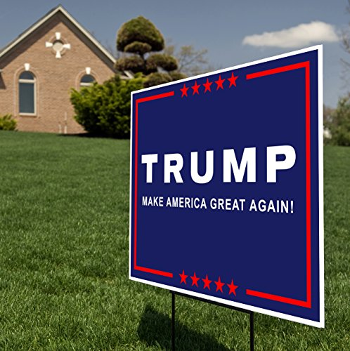 Donald Trump For President 2016 Yard Sign Lawn Signage
