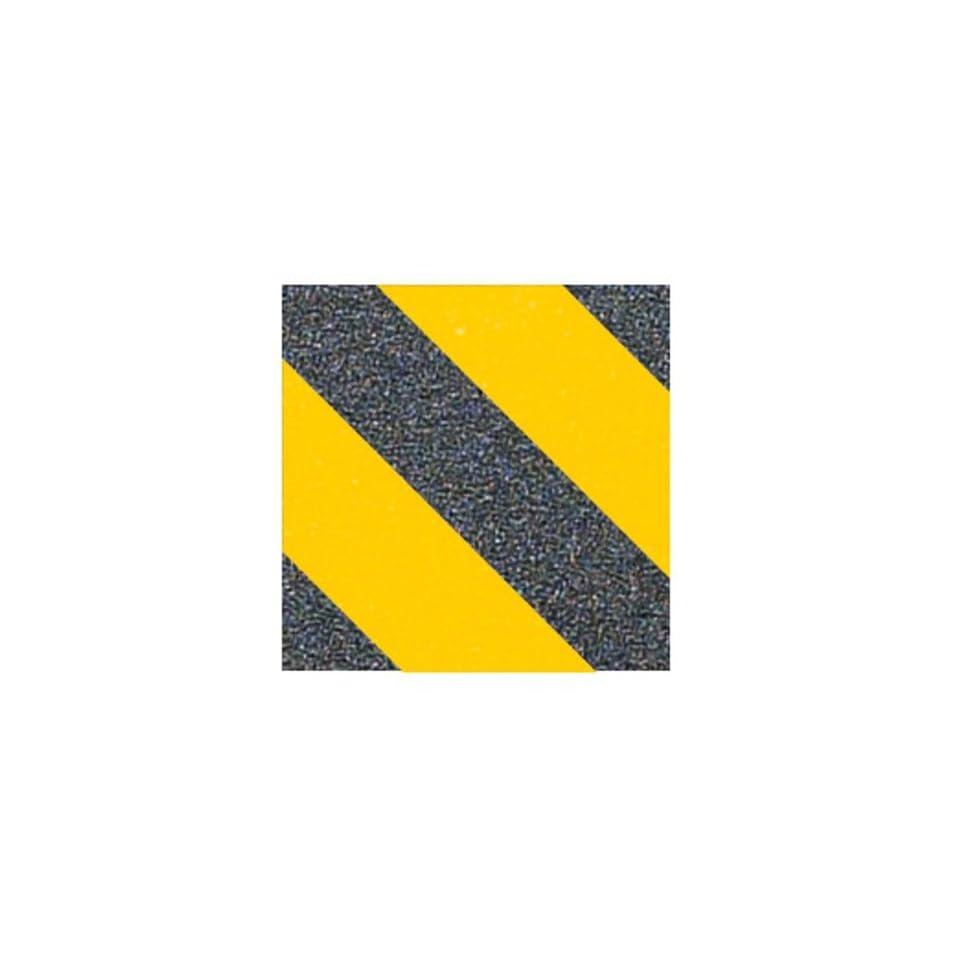 FKD GRIP SINGLE SKATE GRIP SHEET CAUTION YELLOW//BLACK