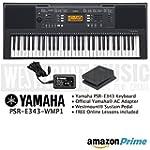 Yamaha PSR-E343 Keyboard including of...