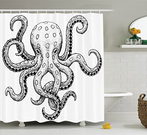 ambesonne-octopus-decor-collection-sketch-style-print-of-deadly-blue-ringed-octopus-camouflage-marin