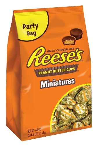 Reese's Peanut Butter Cup Miniatures, 40 Ounce Package