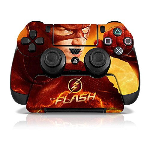 Controller Gear Officially Licensed WB The Flash Sony PS4 Controller & Stand Set Skins Electric Yellow - PlayStation 4 (Ps4 Merchandise compare prices)