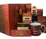 Delight Expressions™ Sweets and Swirls Gourmet Food Gift Box - A Holiday Gift Basket Idea!