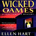 Wicked Games: A Jane Lawless Mystery, Book 8 (       UNABRIDGED) by Ellen Hart Narrated by Aimee Jolson