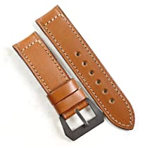 Pre-V by Mario Paci in Cognac with PVD buckle with buckle 24/24 125/80