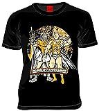 (キン肉マン)Tシャツ「キン肉マン×イヌナキン」(黒)Lサイズ