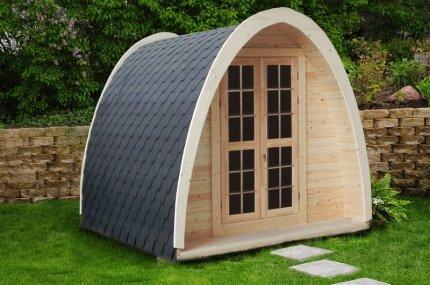 Fass-Gartenhaus Holz