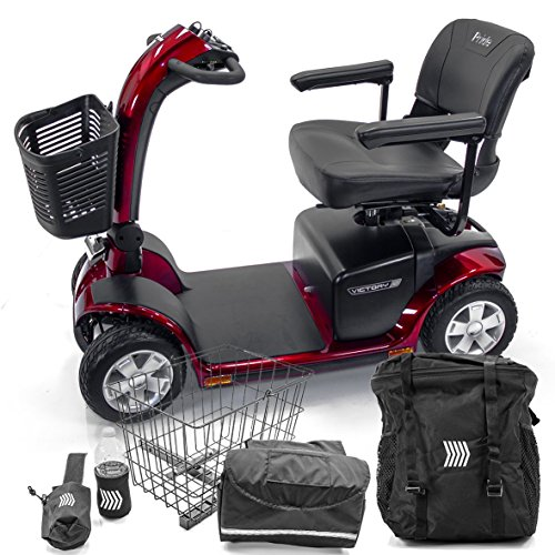 victory-10-pride-4-wheel-electric-scooter-sc710-red-mobility-accessories-bundle
