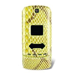 Naztech Motorola KRZR Snap-On Cover - Alligator Green - CDMA