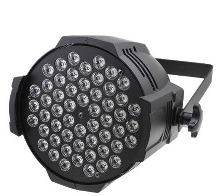 Free Ship 8 Pieces Rgbw 54*3W Par Light Led Par 64 Light Par 64 Light