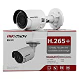 HIKVISION DS-2CD2085FWD-I 8MP IP Camera(12 VDC & PoE IP67 30m IR Built-in SD Slot H.265 3D DNR Motion Detection)