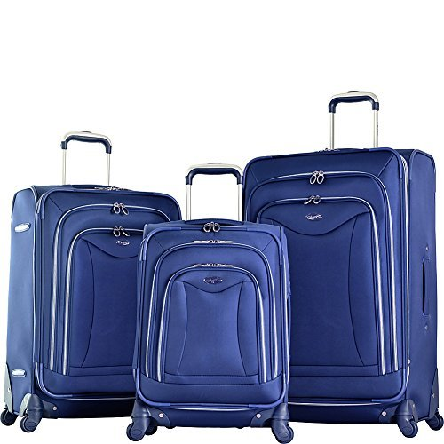 olympia-jf-4200-3-ny-luxe-soft-case-luggage-navy-pack-of-3