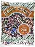 Albert's Chews Fruit Assorted Bag, 240 Piece