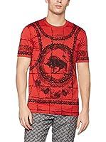 ZZ_Dolce & Gabbana Camiseta Manga Corta (Rojo)