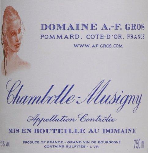 2009 Domaine A.-F. Gros Chambolle Musigny Burgundy Pinot Noir 750 Ml