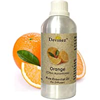 Devinez Orange Essential Oil For Electric Diffusers/ Tealight Diffusers/ Reed Diffusers, 1000ml