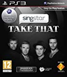 SingStar Take That PS3 Game European Covers English Game & Songs