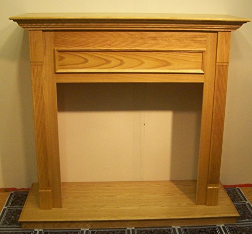 Cfm Wall Cabinet For Gas Fireplace Insert - 36In., Honey Oak, Model# F0Wh36