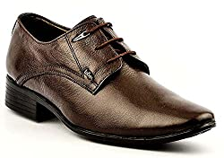 lee cooper lc2035 brown formal shoes uk-9