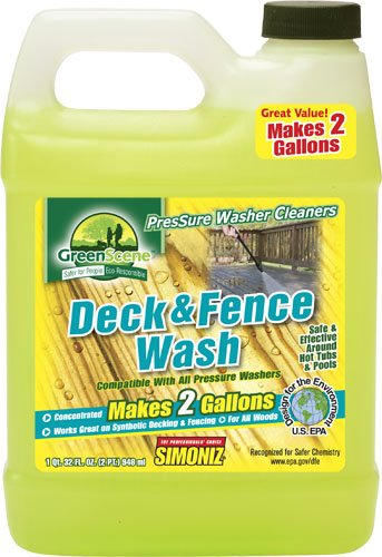Simoniz GS22 Green Scene Deck and Fence Cleaner (Simoniz Pressure Washer compare prices)