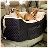 Snoozer Large Lookout Dog Car Seat - Black Quilt SN-80003