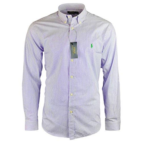 Ralph Lauren -  Camicia Casual  - Uomo Purple Medium