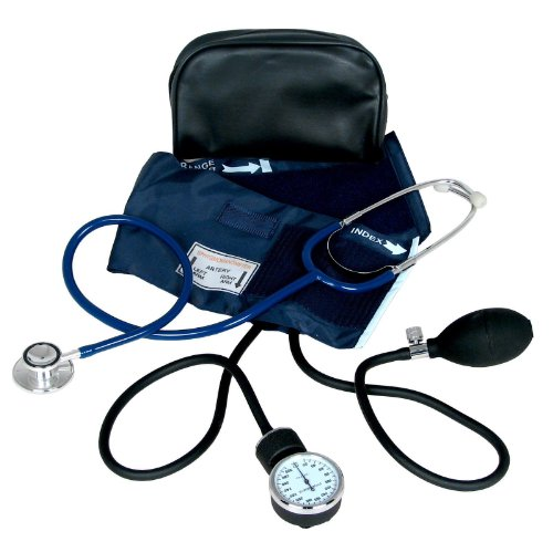 BP MEDICAL SUPPLIES Blood Pressure Cuff With Dual Head Stethoscope Kit