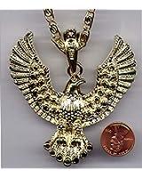 "Elvis Costume Necklace Eagle Costume Necklace 3"" EAGLE"