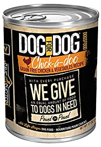 DOG for DOG 2030 Chick-a-doo Wet Pet Food, Size 13