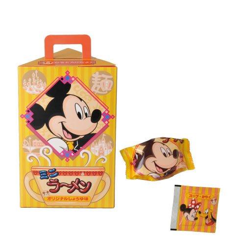 ミッキーマウス ミニラーメン しょうゆ味 お菓子【東京ディズニーリゾート限定】