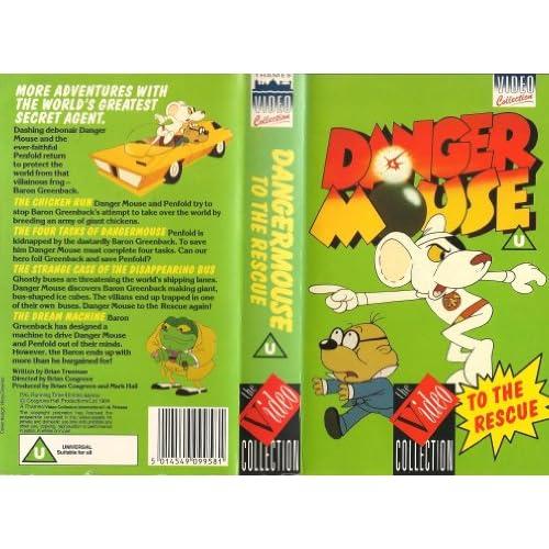 Amazon.com: Danger Mouse [VHS]: David Jason, Terry Scott, Edward