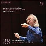 echange, troc J.S. Bach, Bach Collegium Japan, Suzuki - Bach: cantates sacrées, vol. 38 BWV 52, 82, 55, 58