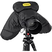 Ruggard DSLR Parka Cold and Rain Protector for Cameras and Camcorders (Black)