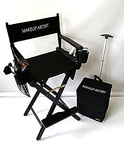 Amazon Com Make Up Artist Tall Director Chair Heavy Duty