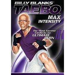 Billy Blanks: Tae Bo Max Intensity