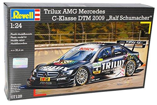 Mercedes-Benz C-klasse Trilux AMG W204 Dtm 2009 Ralf Schumacher 07128 Bausatz Kit 1/24 Revell Modellauto Modell Auto