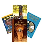 img - for Classroom Library Middle School: The Bridge to Terabithia; Time Cat; the Sixth Grade; the Phantom Tollbooth; Percy Jackson & the Olympians; the Fear Place; Anastasia Krupnik; book / textbook / text book