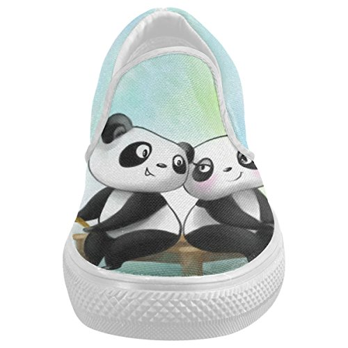 CASECOCO-Cute-Panda-Canvas-Womens-Slip-On-Shoes-Fashion-Sneakers