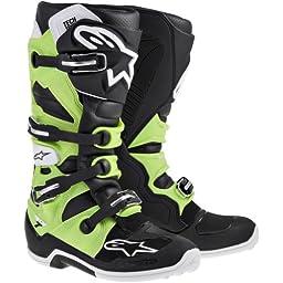 Alpinestars Tech 7 Boots - 5/Black/Green